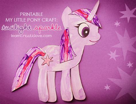 my pony crafts for my pony craft twilight sparkle