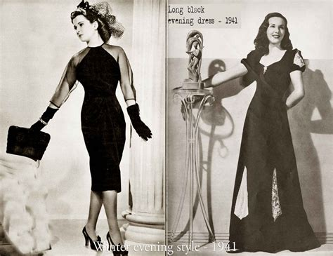 update style for women in there late 40s history of womens fashion 1940 to 1949 glamourdaze