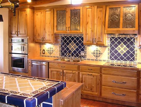 mexican tile backsplash kitchen kitchen project want mexican tiles on countertop and
