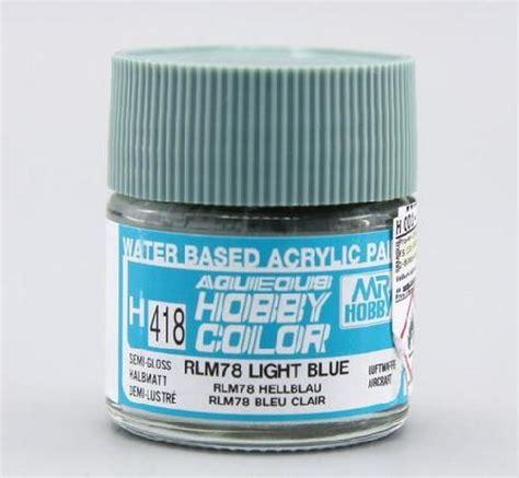 Mr Color Chars Semi Gloss Ug11 rlm to gunze sanyo mr color paint conversion chart rlm