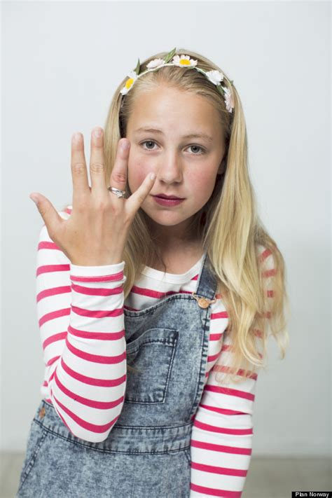 this 12 year old norwegian girl is getting married on saturday 9 year old girls crafts newhairstylesformen2014 com