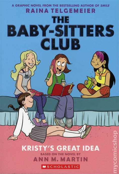 The Baby Sitters Club Graphix 1 4 Box Set Color Edition baby sitters club gn 2015 scholastic color edition comic books