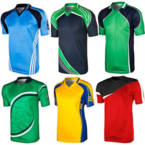 design sports jersey online india best design promotional 100 polyester cricket jersey