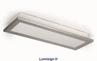 plafonnier de cuisine azor p rectangle faro