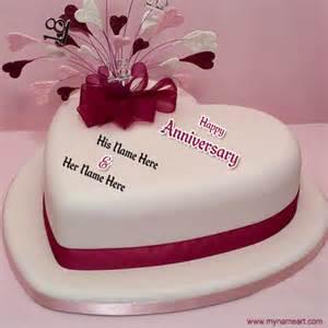 wedding wishes editing write name happy anniversary cake wishes greeting card