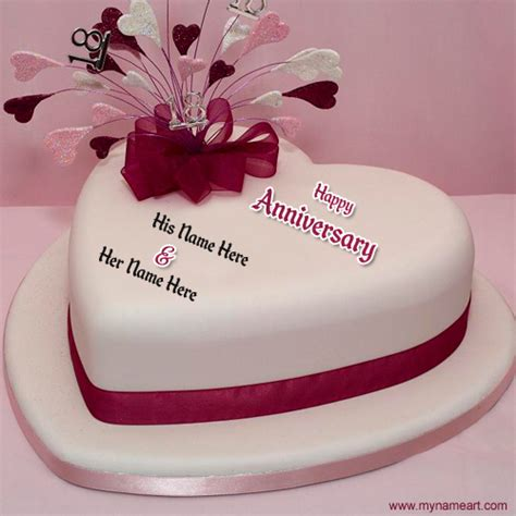 7th Anniversary Wedding Dp by Create Anniversary Cake Pics With Name Wishes Greeting Card
