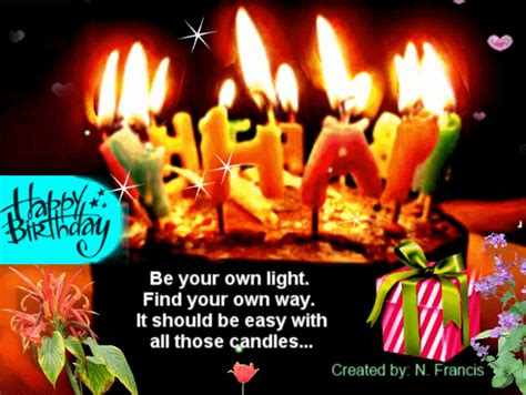 your own light be your own light on your day free cakes balloons