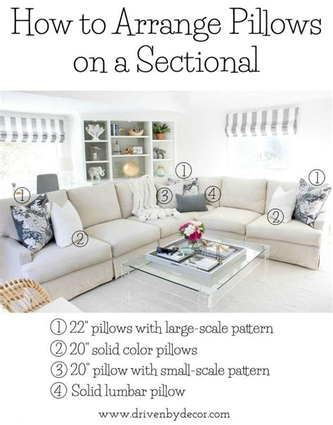 How To Arrange Pillows On A Sofa Pillows 101 How To Choose Arrange Throw Pillows Pillows Living Rooms And Room