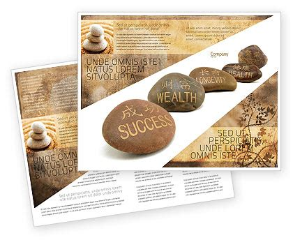 feng shui business card templates free feng shui stones brochure template design and layout