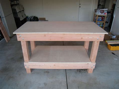 wooden work bench workbench woodworking 187 plansdownload