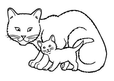 imagenes de gatos kawaii para colorear dibujos infantiles de gatos a color archivos dibujos de