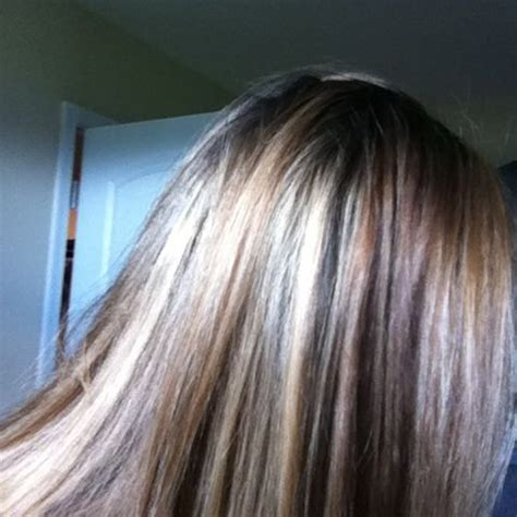 revlon iron turned hair pink streaks revlon frost glow honey hilights serendipity hill
