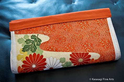 Handmade In Melbourne - japanese clutch bag handmade in melbourne kasasagi arts