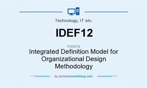 design methodology meaning what does idef12 mean definition of idef12 idef12