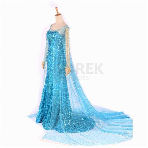 Princess Kostum Elsa Frozen disney frozen princess elsa dress costume