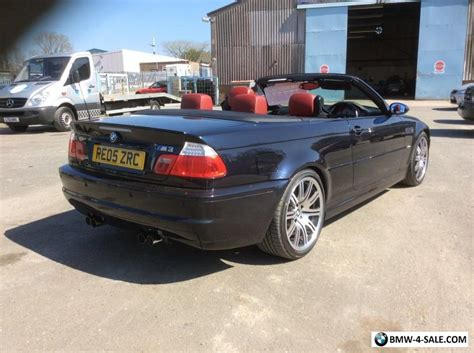 bmw e46 for sale uk 2005 e46 convertible m3 for sale in united kingdom