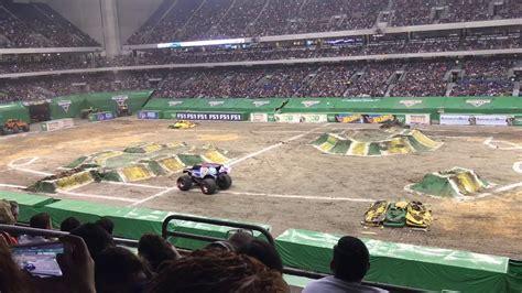 monster truck show in san antonio lucas oil successful backflip monster jam san antonio