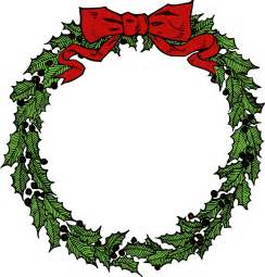 free to use amp public domain christmas wreath clip art