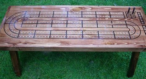 cribbage board coffee table cribbage board coffee tables and tables on