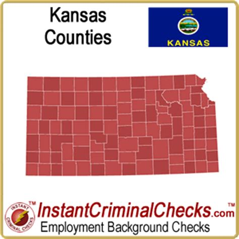 Kansas Criminal Record Kansas County Criminal Background Checks And Ks Court