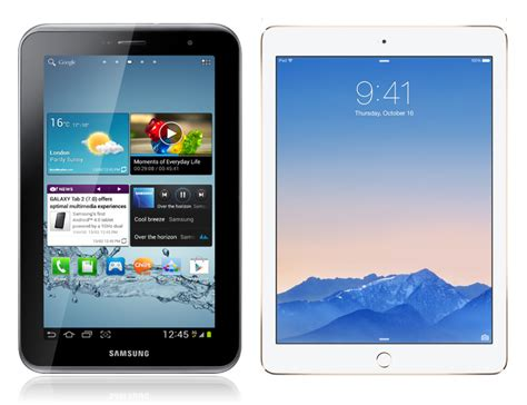 Tablet Samsung Vs samsung galaxy tab s2 vs air 2 better screen storage and weight in the samsung s tablet