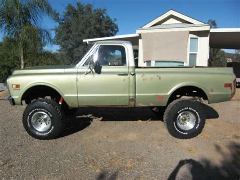 used chevy truck beds sell used 1972 chevy k 10 4 x 4 short bed truck in ramona