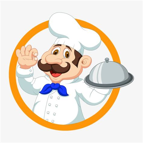 catering logo chef chef png image for free download