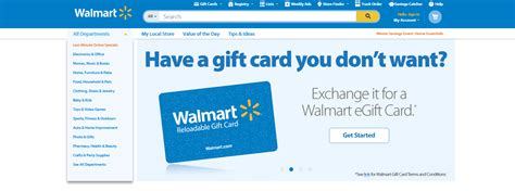 Walmart E Gift Cards Online - walmart offers gift card exchange option for your extra gift cards