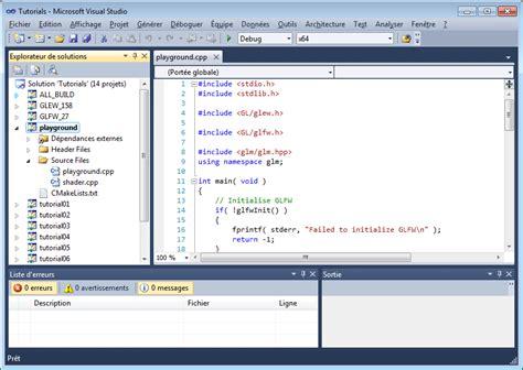 tutorial visual studio c tutorial 1 opening a window