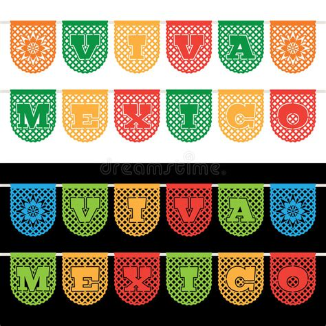 How To Make Mexican Paper Banners - mexican bunting banners stock vector image of craft