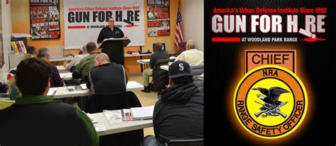 Nra Range Safety Officer by Nra Chief Range Safety Officer Gun For Hire Nj S 6
