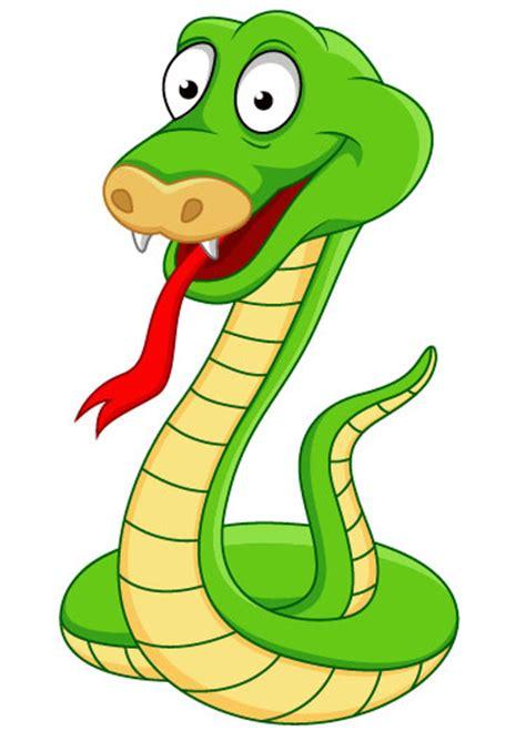 film ular kartun pintados a mano serpiente de dibujos animados 05 vector