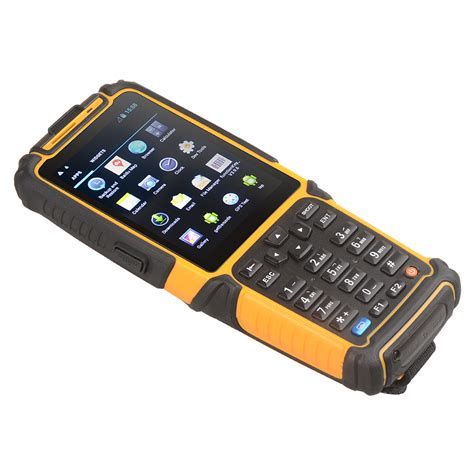 barcode scanner for android rugged android barcode reader pda smartphone scanner ts 901s with wifi 3g buy android