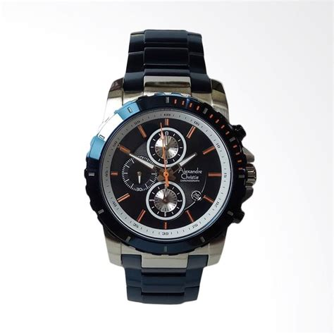 Alexandre Christie Ac 2616 Silver Blue For jual alexandre christie chronograph jam tangan pria silver blue ac6141mc harga