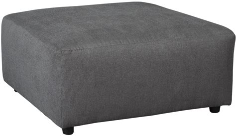 accent ottoman jayceon gray oversized accent ottoman from ashley 6490208