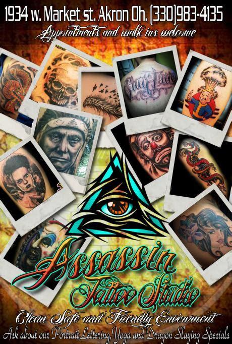 assassin tattoo studio akron oh assassin tattoo studio jewellery