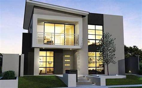 rumah minimalis  lantai ukuran  idaman desain rumah minimalist   casas modernas