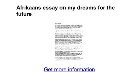 Essay About The Future by Essay On My Future My Future Career Essay Fedisa My Goals In Bba Orientation Assignment