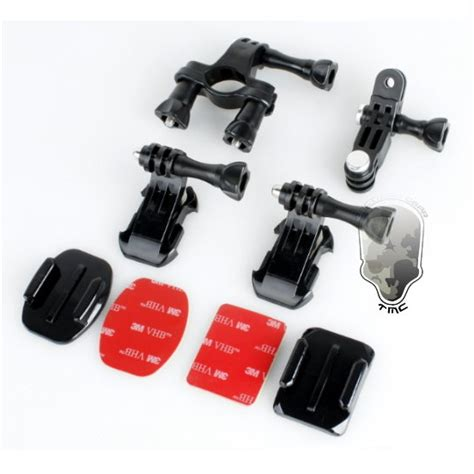 tmc 15 in 1 accessories set for gopro 3 3 4 ebl009