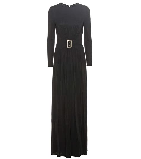 Dress Maxi Burberry burberry federical jersey maxi dress in llack modesens