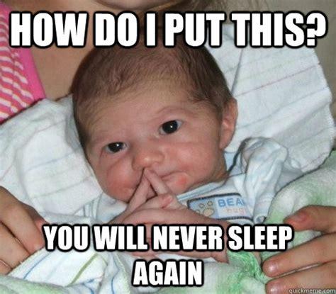 How I Sleep Meme - wednesday randoms then comes family