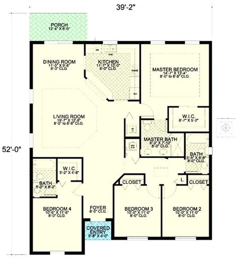 4 bedroom house plans page 288 small 4 bedroom house small 4 bedroom house plans