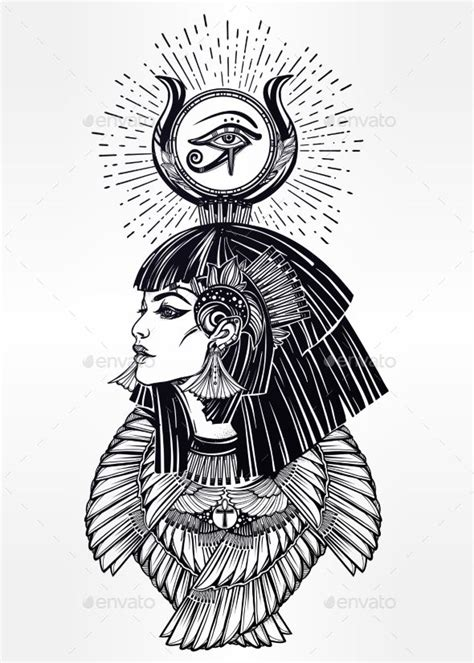 hathor tattoo 25 best ideas about goddess on