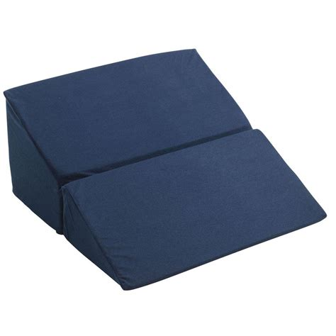 bed wedges amazon com drive medical rtl3825 folding bed wedge blue