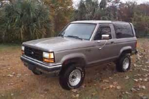 1990 Ford Bronco 2 Steele1010 1990 Ford Bronco Ii Specs Photos Modification