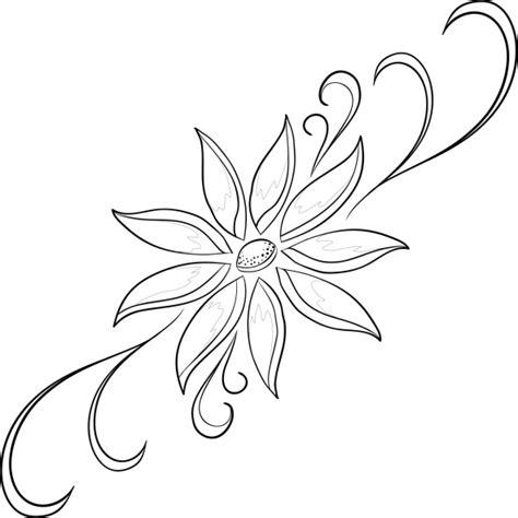 imagenes para dibujar en paredes im 225 genes de flores para colorear dibujos de