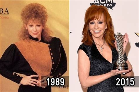 country stars where are they now reba mcentire then and now country stars zimbio
