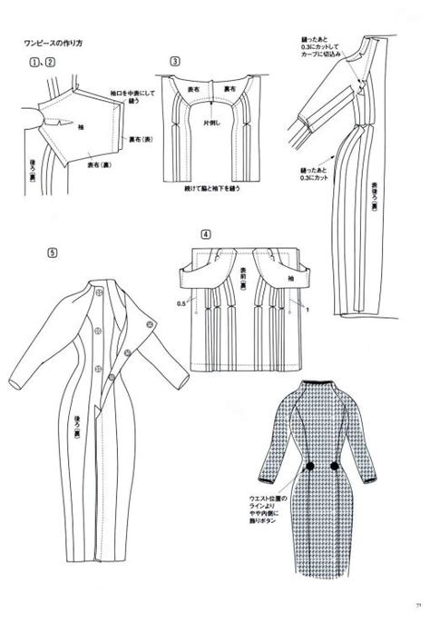 pattern drafting for maternity wear pauline one piece dress pattern page 3 of 3 barbie