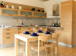 Kitchen Wood Furniture Pictures Of Kitchens Modern Light Wood Kitchen