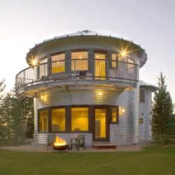 Jacks Backyard Silo House In Utah Grain Silos Rock Modern House Designs